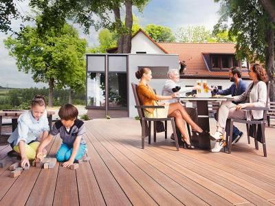Verschönern Sie Ihren Garten mit Terrassendielen